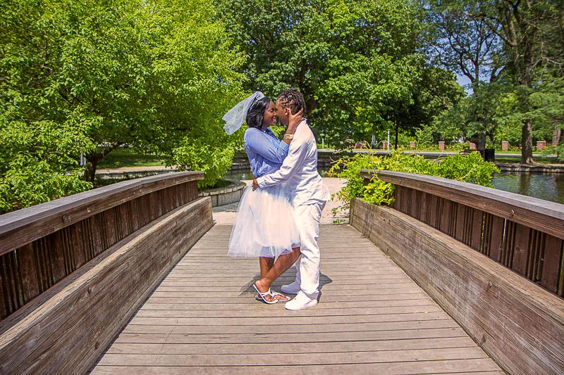 Kansas City Loose Park wedding