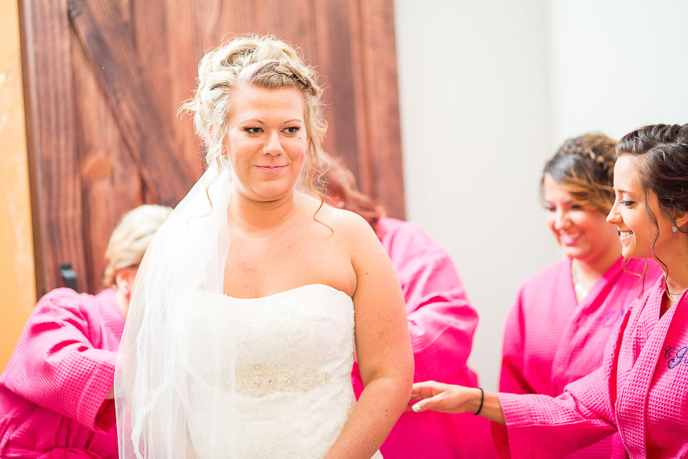 Bliss Plaza wedding photography bridesmaids first look