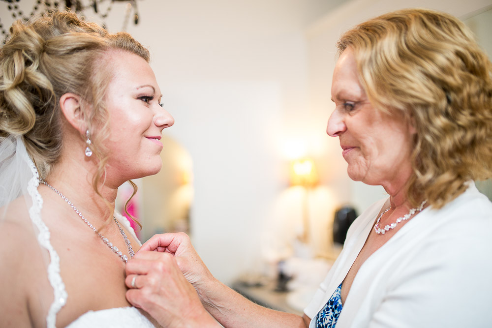 Bliss Plaza wedding photography mother and daughter moment