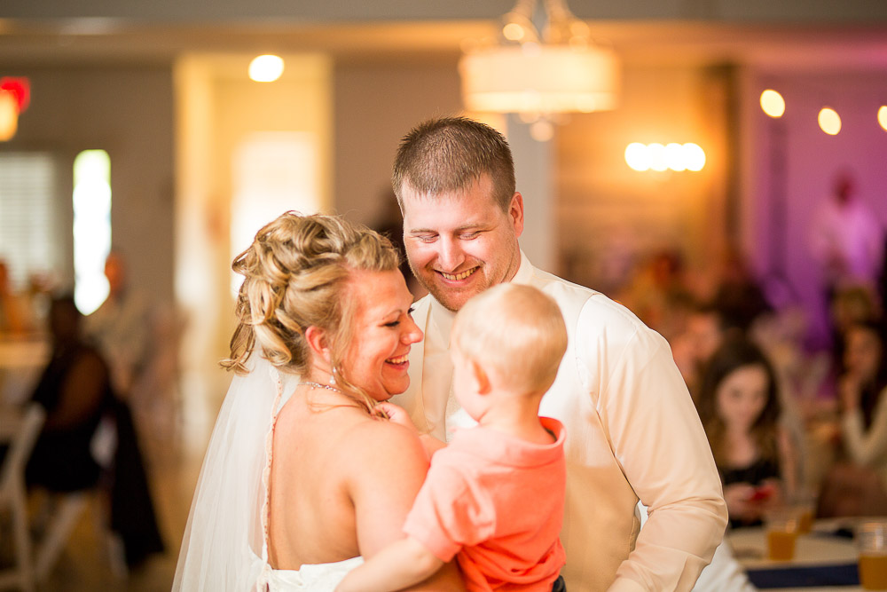 Bliss Plaza wedding photography family first dance