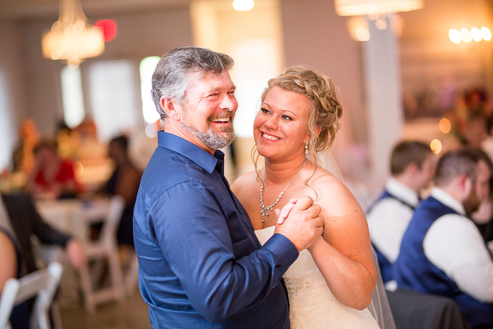 Bliss Plaza wedding photography father daughter dance
