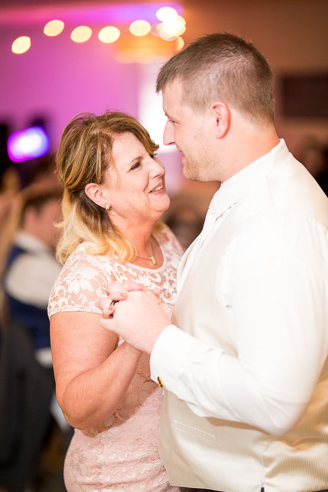 Bliss Plaza wedding photography mother son dance