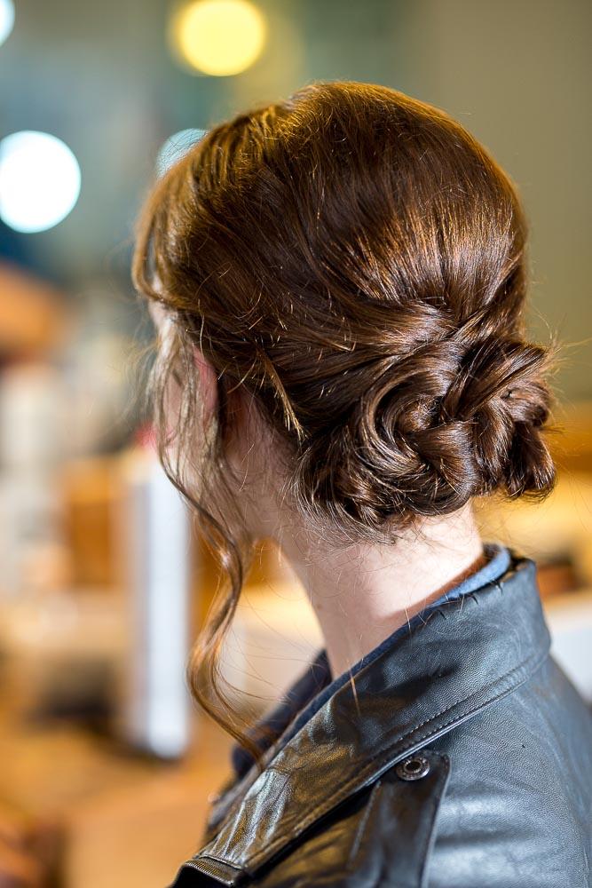 Berry Acres Odessa missouri wedding hair style