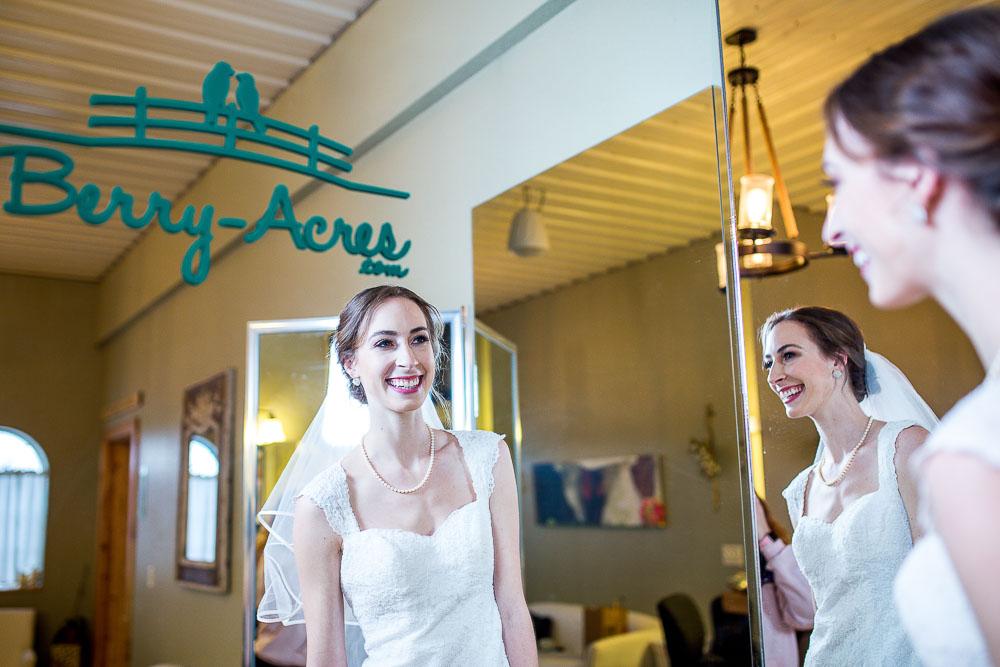 Berry Acres odessa missouri dressing room portrait