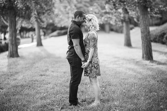 Nelson Adkins museum Kansas City engagement session