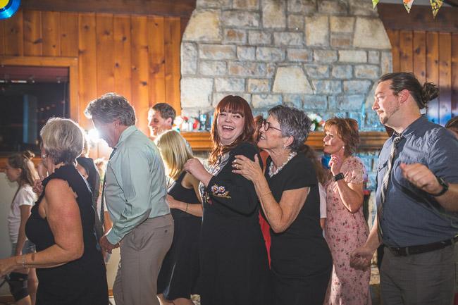 Karaoke wedding reception in Kansas City