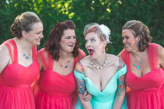Off beat bride in Kansas City
