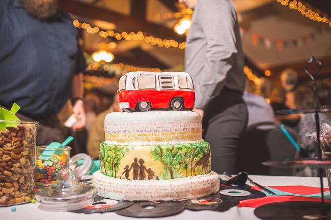 Alternative wedding cake in Kansas City