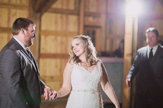 Kansas City wedding reception at First Creek Farm