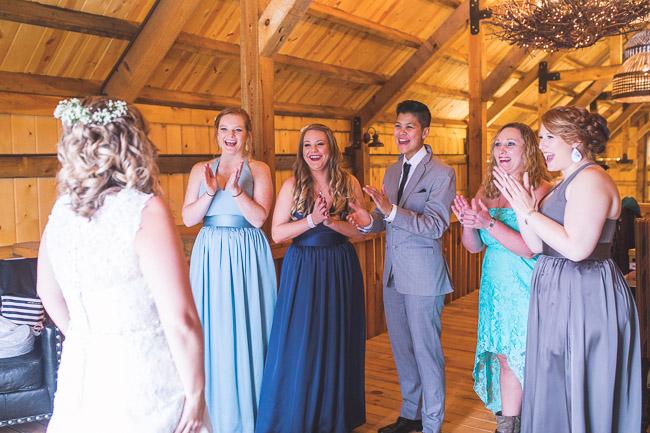 First Creek Farm wedding in Kansas City
