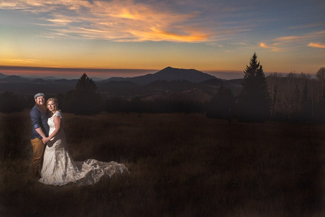 Flagstaff Arizona Elopement with Kansas City wedding photographer