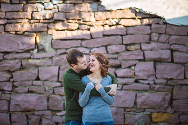 Downtown Bonner Springs Engagement Photography