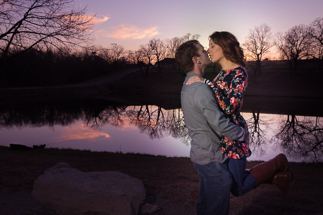Bonner Springs aquatic park engagement session
