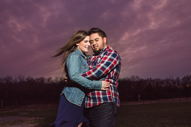 Black Hoof Park at Lake Lenexa engagement session