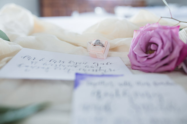 Clark Calligraphy wedding in Kansas City