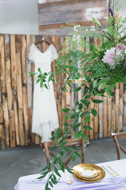 Beautiful wedding dress by Janay A Eco Bridal