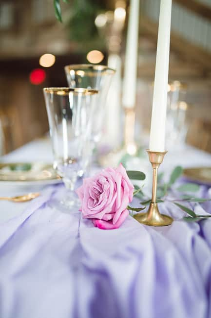 Place setting by Ultrapom event rentals and 11 Events and Planning