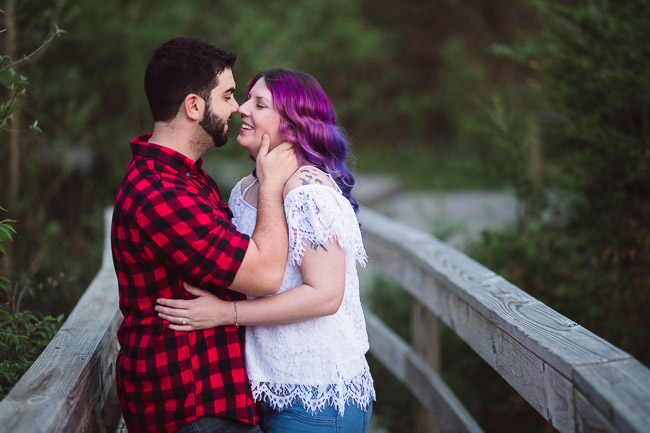 Parkville Nature Sanctuary engagement session
